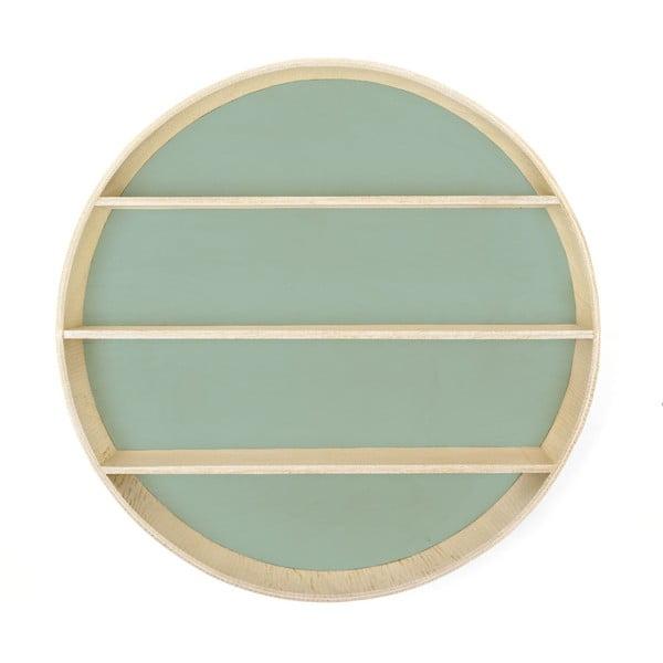 Zelená polica Surdic Azul, ø 56 cm ø 56 cm