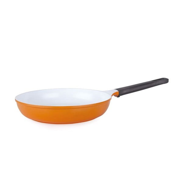 Keramická pánev Poele 28 cm, oranžová