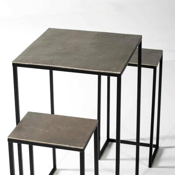 Set masă și 2 scaune Thai Natura, înălțime 104cm
