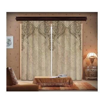 Set 2 draperii Curtain Lasta, 140 x 260 cm imagine