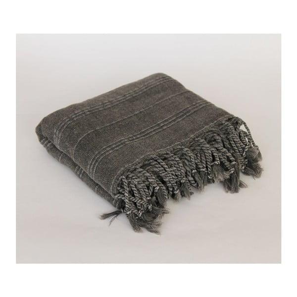 Peshtamal Stone Wash Black, 90x175 cm