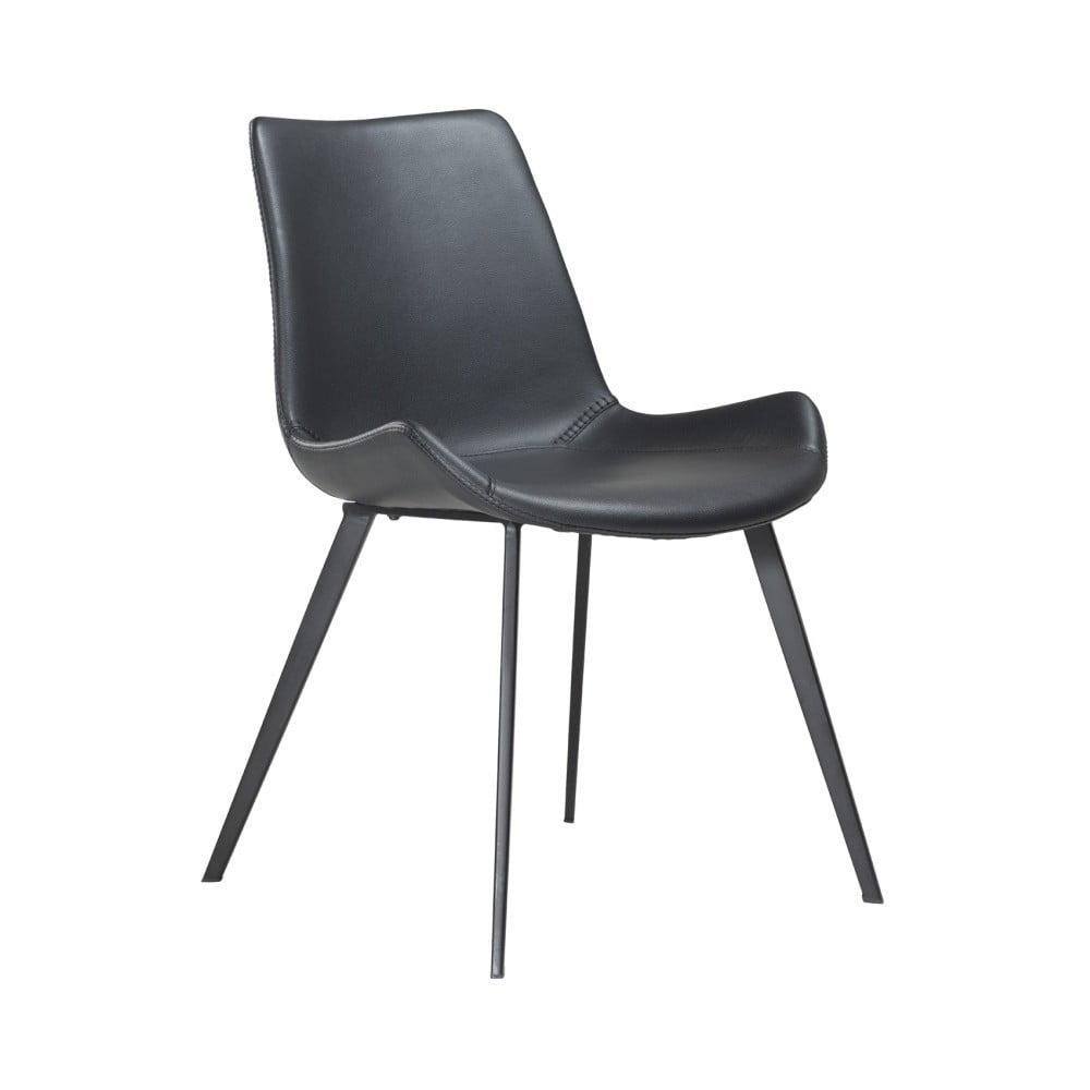Černá jídelní židle z eko kůže DAN–FORM Denmark Hype