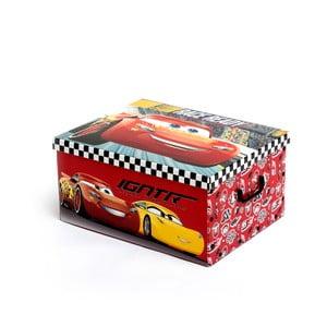 Úložný skládací box na hračky InnovaGoods Cars Folding Toy Boy, 50 x 39 cm