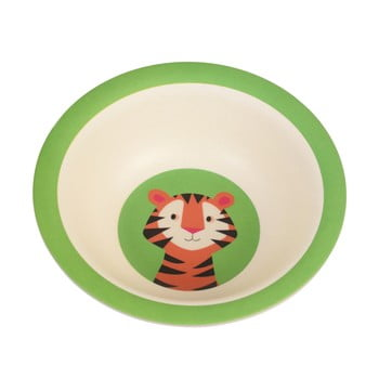 Bol din bambus pentru copii Rex London Teddy the Tiger imagine