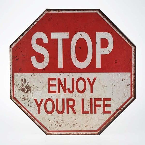 Nástěnná dekorace Stop