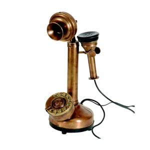 Dekorativní telefon Antic Line Rusty
