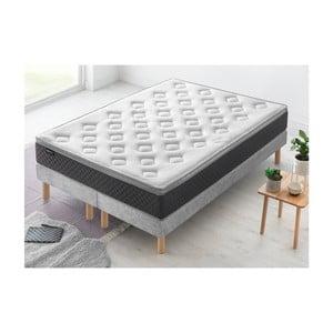 Dvoulůžková postel s matrací Bobochic Paris Fraicheur,90x200cm+90x200cm