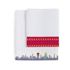 Sada 2 ručníků Mr. Fox Aladdin, 50x100 cm a 70x140 cm