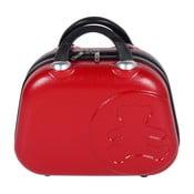 Červený příruční kufr LULU CASTAGNETTE Vanity, 17l