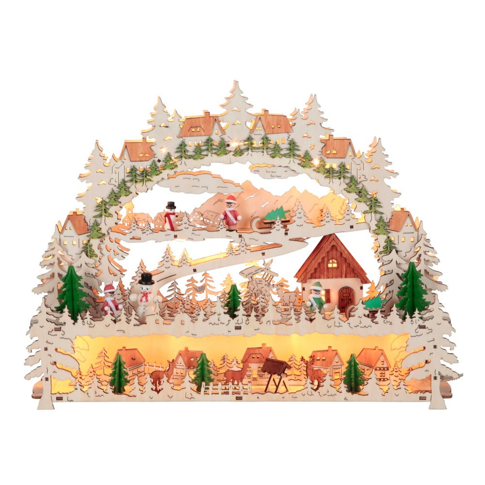 Svítcí LED dekorace Best Season Schwarzwald