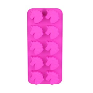Růžová silikonová forma na led Le Studio