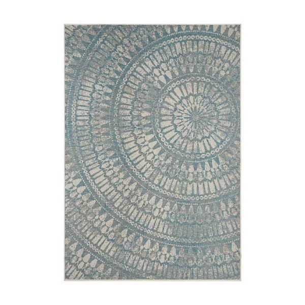 Šedomodrý venkovní koberec Bougari Amon, 200 x 290 cm