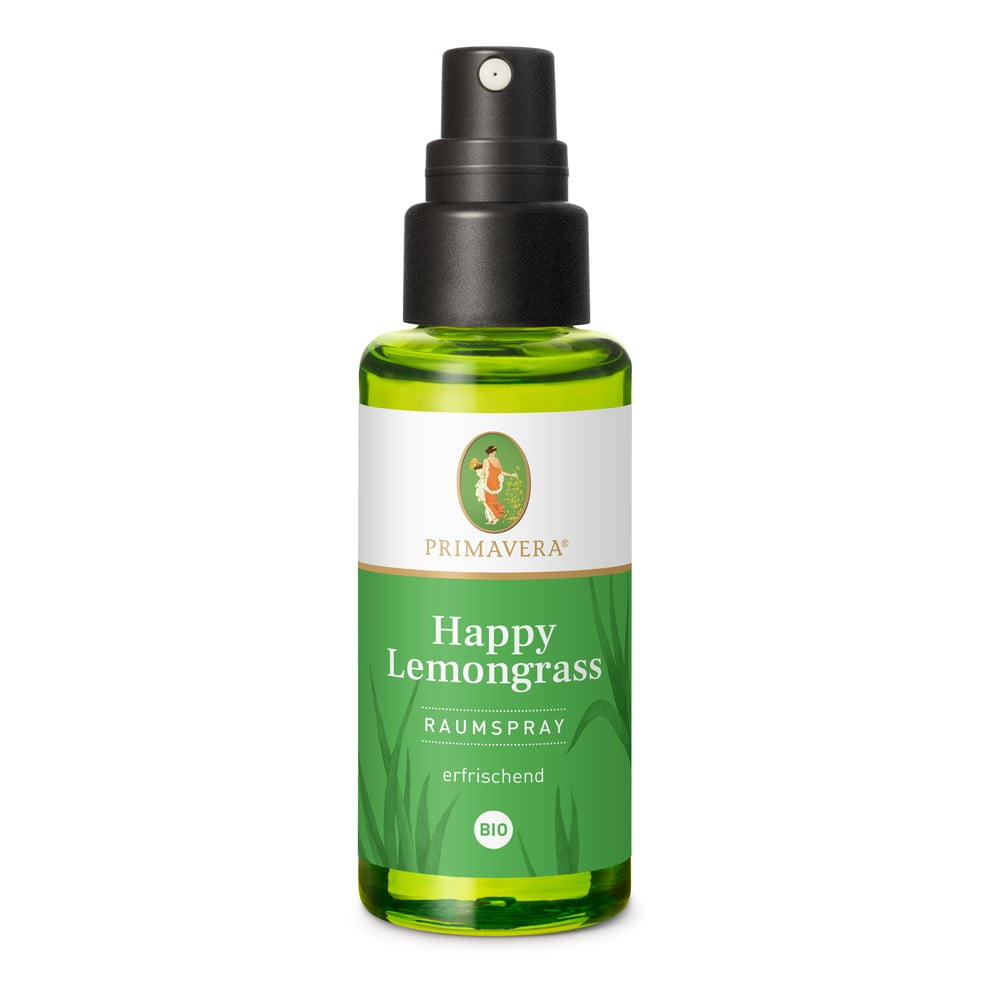 Pokojový sprej Primavera Happy Lemongrass, 50 ml