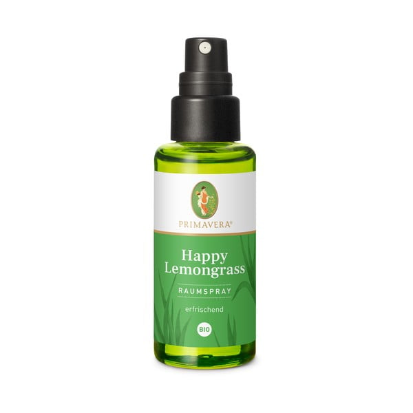 Spray de cameră Primavera Happy Lemongrass, 50 ml