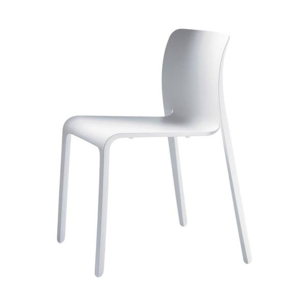 Bílá jídelní židle Magis First
