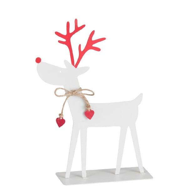 Vánoční kovová soška J-Line Reindeer