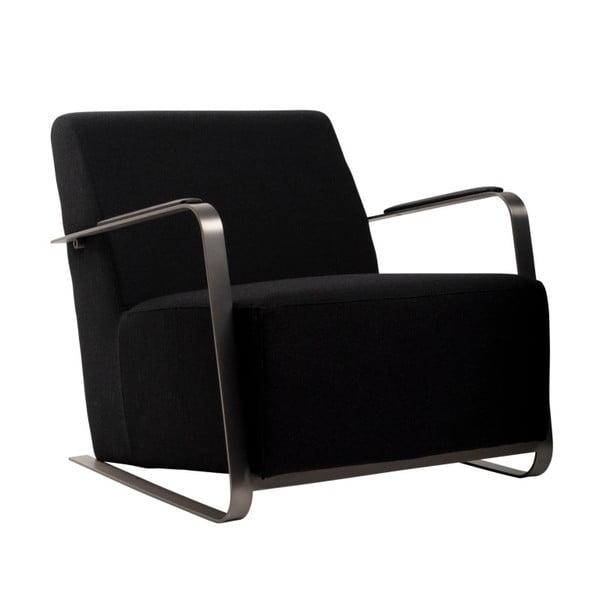 Adwin fekete fotel - Zuiver