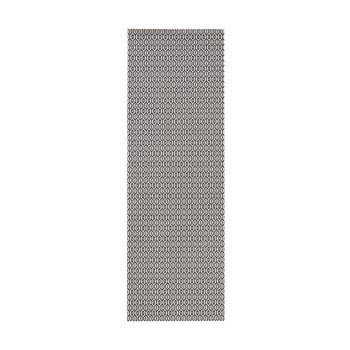 Covor adecvat interior/exterior Bougari Meadow, 80 x 150 cm, alb-negru de la Bougari