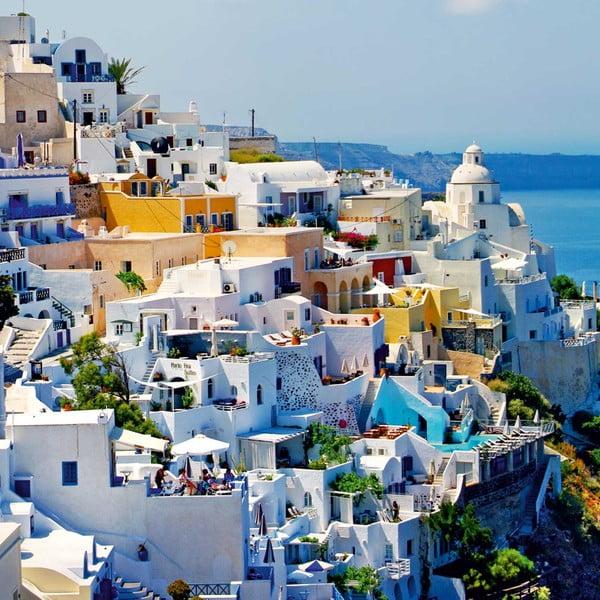 Obraz Řecko, 60x60 cm