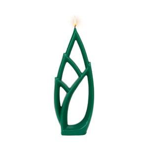 Zelená svíčka Alusi Livia Grande, 6hodin hoření