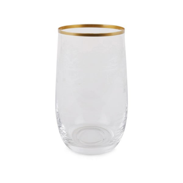 Sada 6 skleněných skleniček Bridget