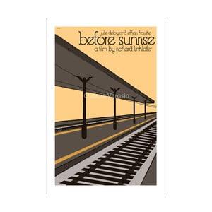 Plakát Before Sunrise (Před úsvitem)