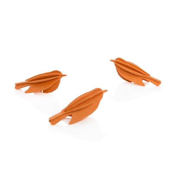 Skládací pohlednice Lovi Minibird Orange