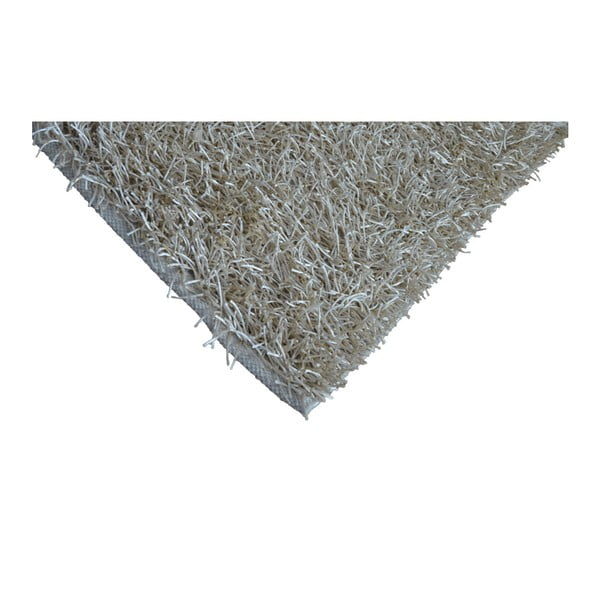 Šedo-béžový koberec Webtappeti Shaggy, 60x100cm