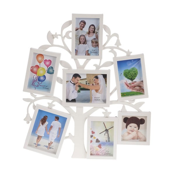 Fotorámeček se sedmi sekcemi Tree