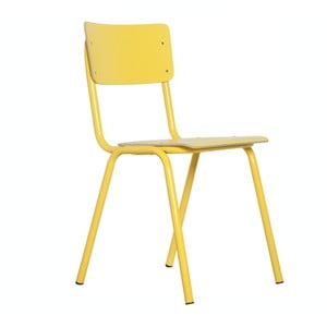 Židle Back to School Yellow