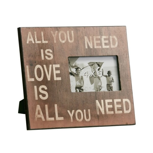 Fotorámeček All you need is love... I, 23x28 cm