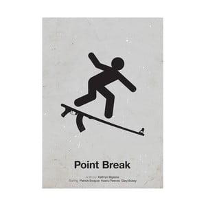 Plakát Point Break, 29,7x42 cm, limitovaná edice
