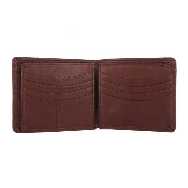 Kožená peněženka Rufus Natural Whiskey