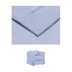 Modrý povlak na křeslo THE CLASSIC LIVING Jean