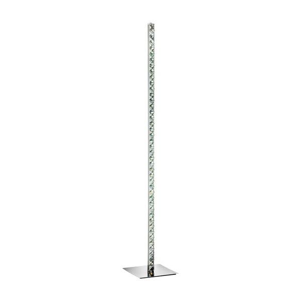 Volně stojící lampa Searchlight Clover, stříbrná