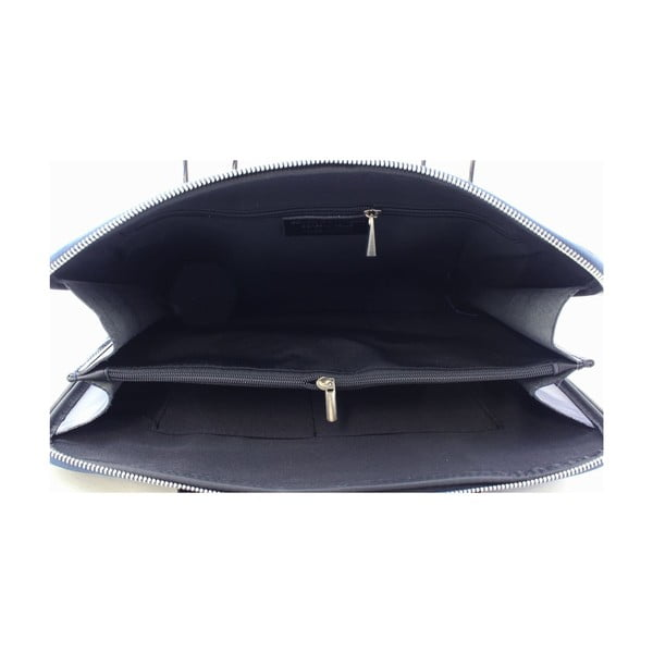 Kožená unisex taška Manola Blue