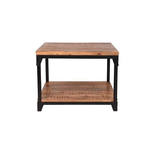 Odkládací stolek sdeskou zmangového dřeva LABEL51 Sturdy, šířka60cm