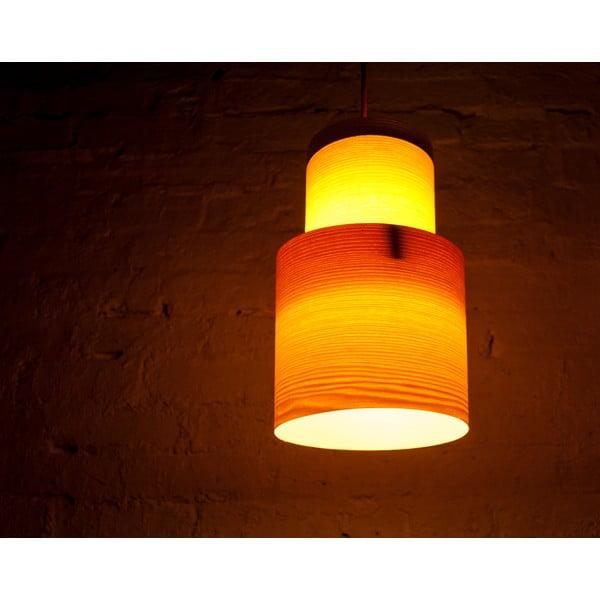 Ručně vyráběné světlo Retro, jasan