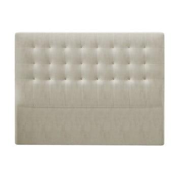Tăblie pat cu înveliș de catifea Windsor & Co Sofas Athena, 180x120cm, bej