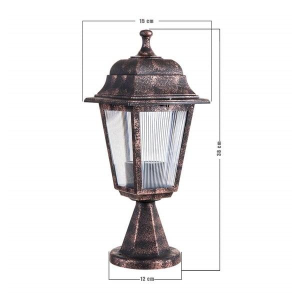 Venkovní svítidlo bronzové barvy Chateau
