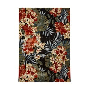 Koberec Think Rugs Tropics Black & Multi, 160 x 220 cm