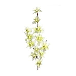 Umělá květina se zelenými květy Ixia Ntombi, výška137cm