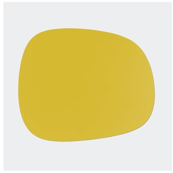 Stůl Maple, menší, žlutý