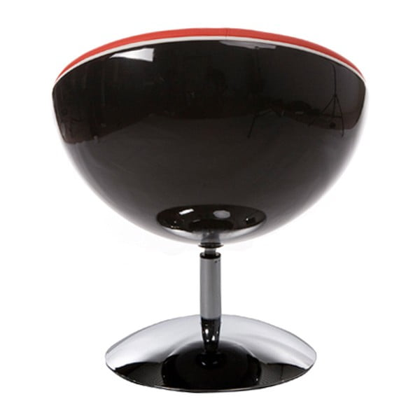 Červené otočné křeslo Kokoon Sphere