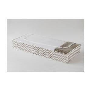 Cutie textilă pentru depozitare Compactor Clear