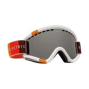 Pánské lyžařské brýle Electric EGV Orange Blast White - Bronze Silver, vel. M