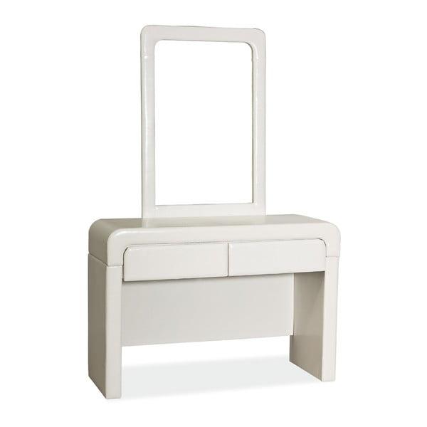 Kosmetický stůl se zrcadlem White Mirror