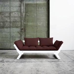 Canapea extensibilă Karup Bebop White/Brown
