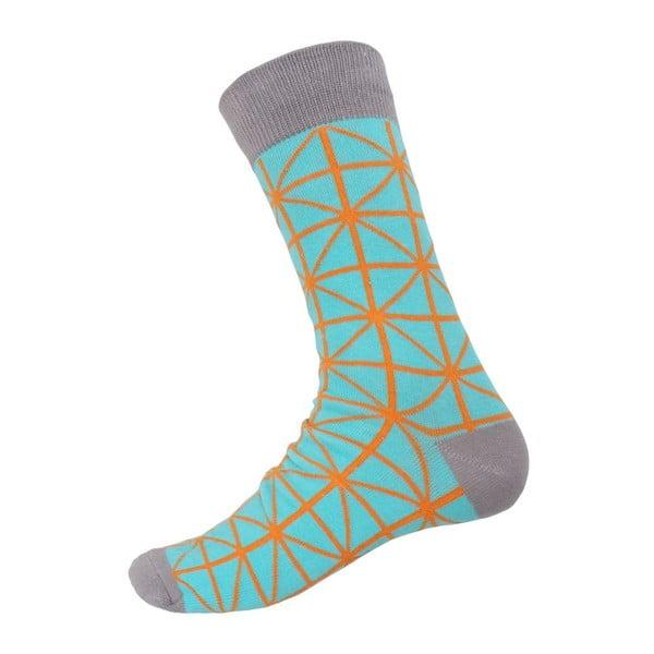 Ponožky Grey Ornament, velikost 40-44