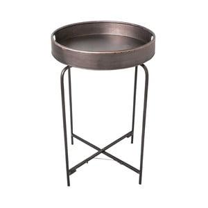 Kovový odkládací stolek Antic Line Fer, 72 cm